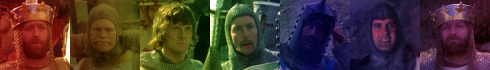 Monty Python and the Holy Grail is English K-Nigh-Its Love